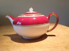 Wedgwood Ulander Powder Ruby Bone China Large Teapot New In perfect condition