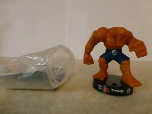 """Attacktix Marvel Action Figure """"Thing"""" Fantastic Four - VHTF Spring Arm Action"""