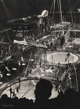 1940s Vintage 16x20 CIRCUS CARNIVAL Performers Show Ringling Brothers Photo Art