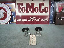 1956 Ford Seat Belt Floor Brackets 1 Pr