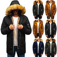 Winterjacke Parka Mantel Wärmejacke Winter Alaska Men Mix Herren BOLF 4D4 Kapuze