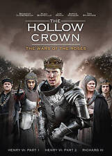 The Hollow Crown: The War of the Roses (DVD, 2016, 3-Disc Set)