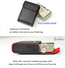 Brofeta Italy leather case/bag for Minolta TC-1 film camera Handmade.