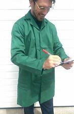 Green Protective Lab Coats Multi uses Vets Medics Warehouses Students.. S M L XL