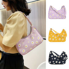 Women Small Tote Vintage Shoulder Bag Handbag Nylon Mini Subaxillary Bag