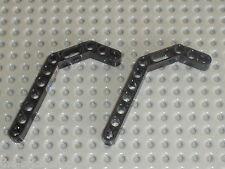 LEGO TECHNIC black beam liftarm bent ref 32009 / sets 8448 8297 8458 8446 8462