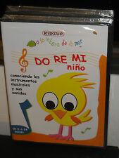 Do Re Mi Nino (DVD) Spanish Language! KIDZUP DVD! BRAND NEW!