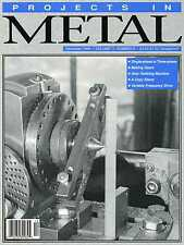 Projects In Metal Magazine Vol.11 No.6 December 1998