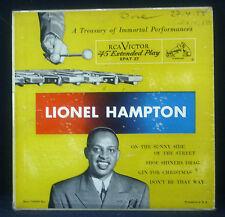 """7"""" LIONEL HAMPTON a conseil du trésor of immortal interprétations et exécutions,"""