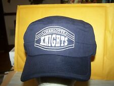 Charlotte Knights  ADJUSTABLE MINOR LEAGUE BASEBALL CAP-DARK BLUE-MILITARY