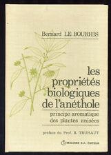 PROPRIÉTÉS BIOLOGIQUES  DE L'ANÉTHOLE, PRINCIPE AROMATIQUE DES PLANTES ANISÉES