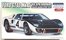 FUJIMI HR-24 1/24 Ford GT40 Mk.II '66 SPA 1000km w/ photo-etched parts model kit