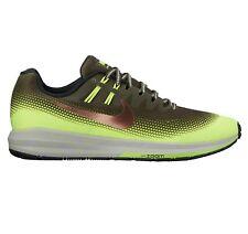 Nike Air Zoom Structure 20 Shield Cargo Khaki Volt 849581-300 Men s Size  12.5 84c983792