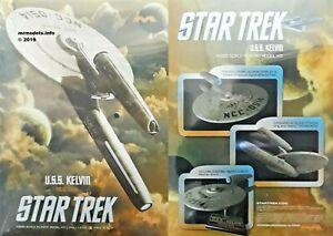 Moebius Models 1/1000 Star Trek U.S.S. Kelvin NCC-0514 New Plastic Model Kit 976