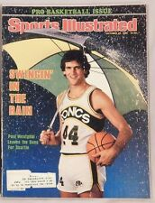 Paul Westphal Seattle Supersonics 1980 Sports Illustrated