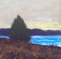 New Marsh Wetlands Realism Landscape OIL PAINTING ART IMPRESSIONIST Original