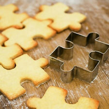 1Pc Biscuit Cutter Mould Cookie Mold Cake Puzzle Bakery Kitchen DIY Craft Tool