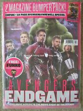 Empire May 2019 The Avengers Cover 1 Endgame 48 pg Farewell Booklet Danny Boyle