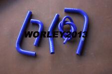 Blue silicone radiator hose for Kawasaki KX250F 2017 2018 17 18