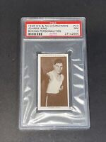 1938 Churchman #23 Johnny King Boxing Personalities PSA 7 NM