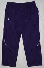 NEW! UNDER ARMOUR AllSeason Pants Mens 2X 2XL XXL Purple NWT!