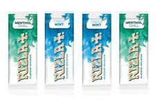 4  x packs Rizla Infusion cards 2 x Fresh mint and 2 x Menthol Chill flavours.