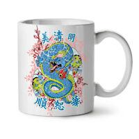 Dragon Chinese Legend NEW White Tea Coffee Mug 11 oz | Wellcoda