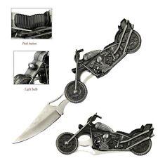 High Beam Motorcycle Fantasy Folding Knife With LED Light