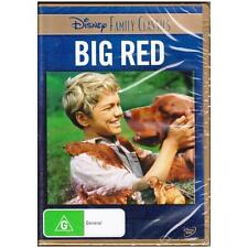 DVD BIG RED DISNEY Family Classics Walter Pidgeon 1962 Adventure Dog R4 [BNS]