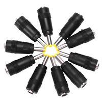 1X(SODIAL (R) 2.1 x 5.5mm Female bis 4 x 1,7 mm maennlich AC-DC-Netzanschlus T4W