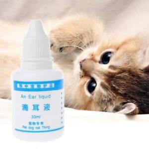 33ml Pet Cat Ear Drop Anti-dog Dog Inflammation Ear Mite Wash Ear Water