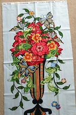 "1 Colorful ""Rhapsody"" Quilting/Wallhanging Crafting Fabric Panel"
