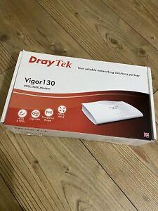 Draytek Vigor 130 Router Boxed Complete