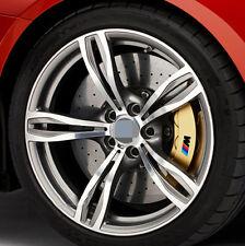4 Ps Black M POWER BRAKE CALIPER Decal Sticker Cast Vinyl Anti High Temp For BMW