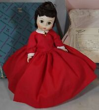 "BOXED 7.5"" MADAME ALEXANDER HARD PLASTIC LITTLE WOMEN 'JO' DOLL #413"