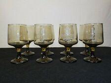 "Set of 8 Pfaltzgraff Village Brown Goblets 5 7/8"""