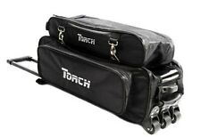NEW TORCH BLACK 3 BALL TOTE ROLLER WITH LOCKING HIDE A WAY HANDLE ON SALE