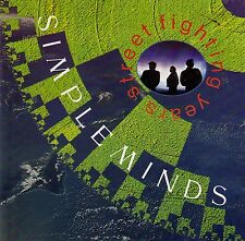 SIMPLE MINDS : STREET FIGHTING YEARS / CD (VIRGIN RECORDS MINDSCD1)
