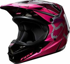 Fox Racing V1 Radeon Helmet Pink 2XL