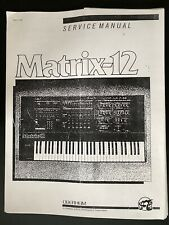 Oberheim Matrix 12 Wiring diagram