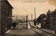 CPA Escaudoeuvres - Entree de la Fabrique de Sucre (391439)