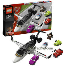 NEW 2011 LEGO Disney Pixar Cars 2 Movie Series Set #8638 SPY JET ESCAPE 339 Pcs