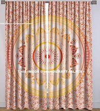 Indian Mandala Living Room Decor Balcony Window Curtain Wall Hanging Curtains