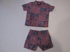 Nwot Reyn Spooner Toddler 18/24M Navy Shirt & Shorts
