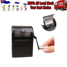 Muller Shredder Smoking Grinder Case Hand Crank Crusher Tobacco Cutter Tool AU