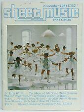 Music of Jule Styne Sheet Music Magazine Pennies from Heaven Organ November 1981