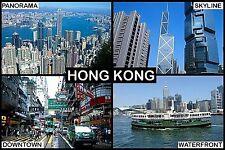 SOUVENIR FRIDGE MAGNET of HONG KONG