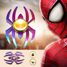 Spider-Man Fidget Finger Spinner Hand Focus Spin Steel EDC Bearing Stress Toys