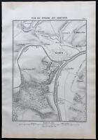 1866 - Plano De Oppidum de Aduatuques - Jules César