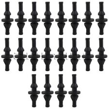 20 Pcs Black Rubber PC CPU/Case Fan Mounting Screws Rivets Silicone Screws